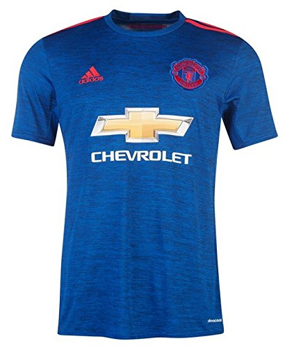 Trikot Adidas Manchester United 2016-2017 Away (Collegiate Royal/Real Red, 164)
