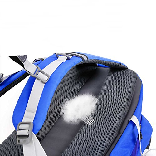 Hewolf 30l zaino di idratazione escursioni arrampicata viaggio pesca campeggio alpinismo ciclismo impermeabile borsa zaino Zaino leggero, Blue Blue