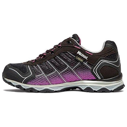 Meindl Shoes X-so 30 Lady Gtx Surround - Nero / Turchese Viola
