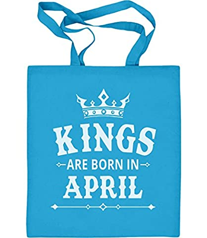 Geschenk für den Mann - Kings are born in April