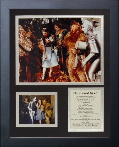 Price comparison product image Legends Never Die Wizard of Oz The Enchanted Forest Framed Photo Collage, 11x14-Inch