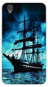 Crazy Beta Darkmoon sea ship design Printed mobile back cover case for Oneplus X