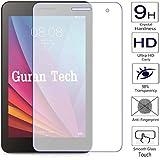 Guran® Protector de Pantalla Vidrio Cristal Templado Para Huawei MediaPad T1 7.0 Tablet-PC Film