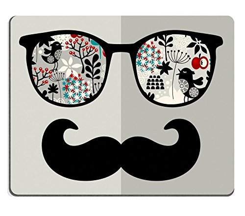 luxlady Gaming Mousepad Bild-ID: 27331320Retro Sonnenbrille mit Reflection für Hipster Vector illustration des Zubehör Brille Isolierte (Id Hipster)