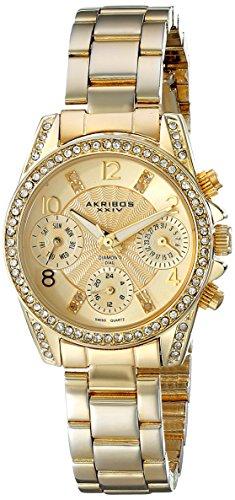 Akribos AK710YG - Reloj para mujeres
