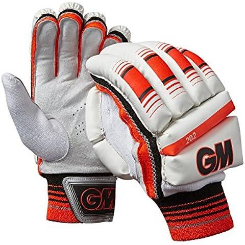 GM–202mano sinistra Batting guanti, taglia unica, colore: rosso - Batting Guanto Set