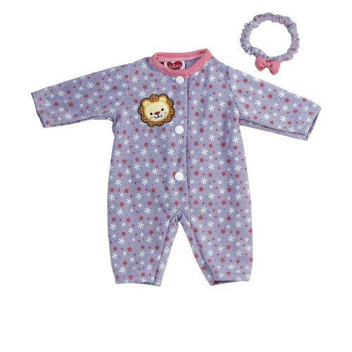 Adora Giggle Time Baby Doll Floral Lion Outfit (Outfit Doll Adora)