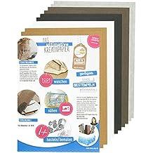 SnapPap Kreativpapier Sortiment, (10 x A4) — zum Nähen von Taschen