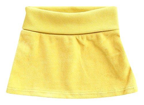 Faldas amarillas para niñas, color amarillo Talla:74-80 cm