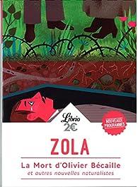 La mort d'Olivier Bécaille et autres nouvelles par Émile Zola