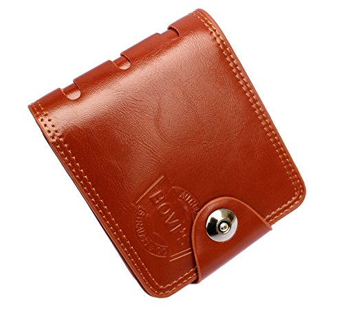 AlexVyan-Special-Design-High-Quality-Brown-Stylish-Bi-Fold-Wallet-Mens-Gents-Boys-Wallet-Purse