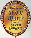 Walt Disney's Blanche-Neige et les sept nains Lithograph portefeuille 2001