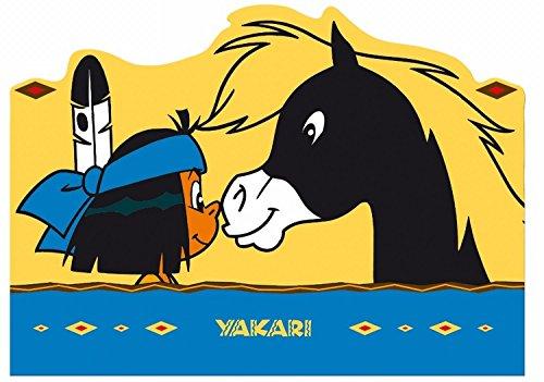 Yakari – Melamin Geschirr Auswahl : Tischset – Teller – Suppenteller – Tasse - Brettchen - Trinkflasche (067990 - Yakari Tischset - Platzset 42 x 29 cm)
