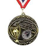 Personalisierte-Schwimm-Medaille mit Stück