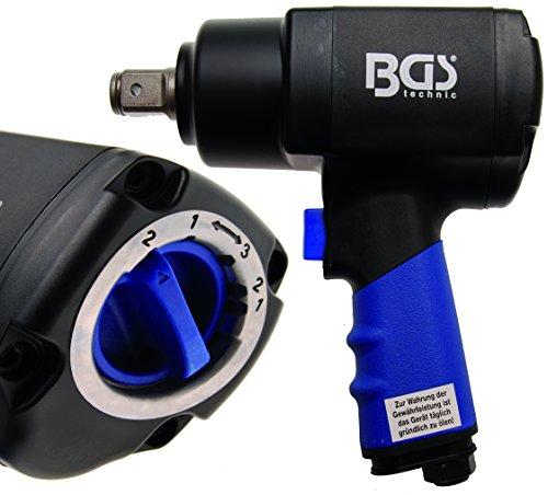 Preisvergleich Produktbild BGS Druckluft Schlagschrauber 20 mm, 1355 Nm, 1 Stück, 3235