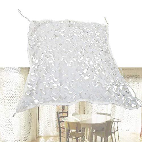 Nieve Camuflaje Red Blanco CS Acampar Aire Libre Decoración del Coche Tienda de Ropa Tema Campo de Hielo Organizar (Tamaño : 4x5M)