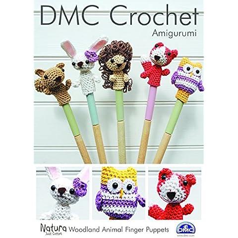 DMC animales marionetas de dedo Patrón de ganchillo, tarjeta, Multicolor