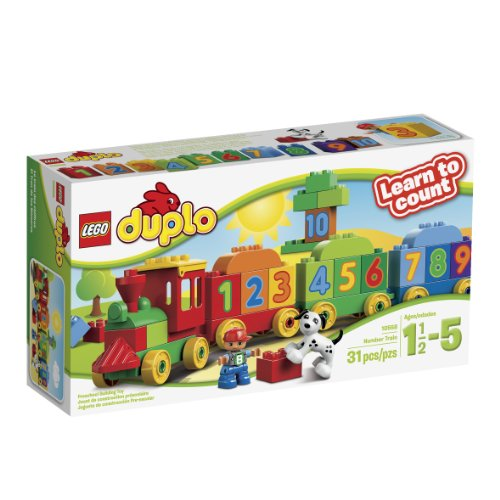 2015 Lego Duplo 100% Original Big Blocks My First Number Train 10558...