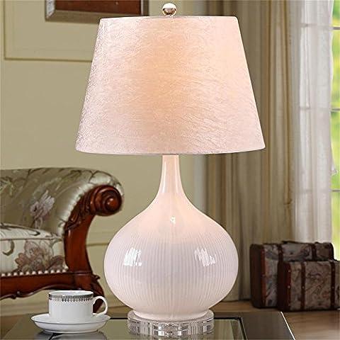 MI TIME lampe moderne et simple table de style européen chinois en céramique salon de la mode créative nightstand chambre lampe de