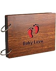 Sehaz Artworks Baby Love Scrapbook Photo Album for Memorable Gift on Born Baby Birthdays