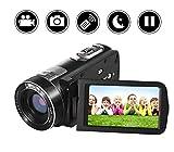 Camcorder/Digitalkamera Full HD 18X Digital Zoom Nachtsicht Video Camcorder mit LCD und 270 Grad drehbarem Bildschirm mit Fernbedienung