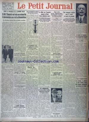 PETIT JOURNAL EDITION DE PARIS (LE) [No 22583] du 14/11/1924