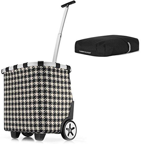 reisenthel - EXKLUSIVES ANGEBOT! carrycruiser + GRATIS cover! Einkaufskorb Einkaufstasche Einkaufstrolley (fifties)