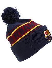 FC BARCELONA navy Oficial rojo y amarillo sombrero bobble