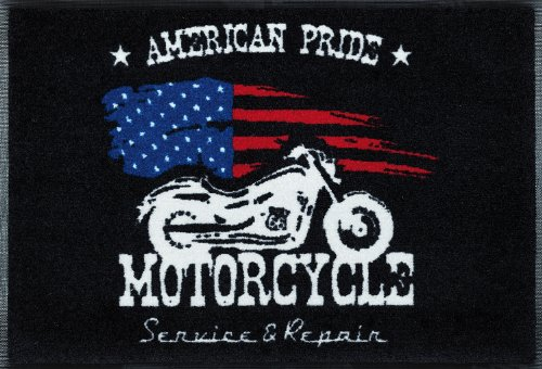 wash+dry Fußmatte American Pride 50x75 cm (Route 66-teppich)
