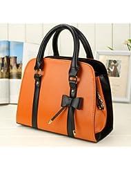 Sac à main élegant , sac femme classique, sac en plusieurs couleurs, sac Mode 2014 - Orange