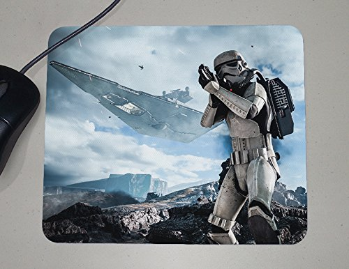 Preisvergleich Produktbild Stormtrooper - Star Wars - Battlefront - PC Console Video Games - Geek Gifts - Novelty Gift - Custom Name Mouse Pad