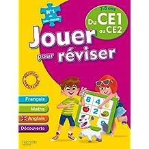 Jouer pour reviser du CE1 au CE2 (7-8 ans) - Cahier de vacances