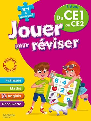 Jouer pour reviser du CE1 au CE2 (7-8 ans) - Cahier de vacances par Collectif