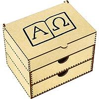 Símbolos Alfa y Omega Caja de Maquillaje (VC00012484)
