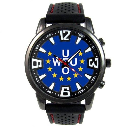 western-union-europea-reloj-para-hombre-con-correa-de-silicona