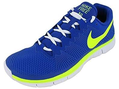 Nike Men's Free Trainer 3.0 Traning Shoe HYPER BLUE/VOLT/WHITE 12 D(M) US