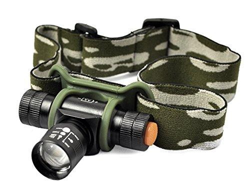 Petzl Taschenlampe Kopf (Q5300LM LED 3Modus Zoomable Scheinwerfer Taschenlampe Kopf Lampe mit Tasche)
