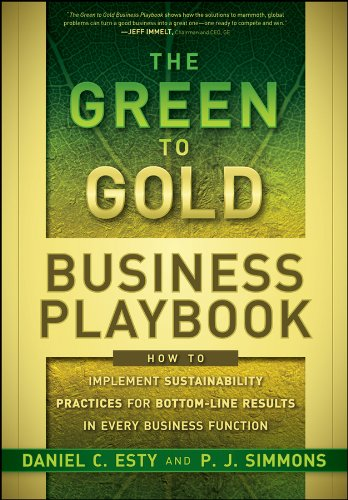 The Green to Gold Business Playbook: How to Implement Sustainability Practices for Bottom-Line Results in Every Business Function (English Edition)