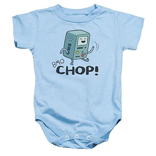 Adventure Time - - Kleinkind BMO Chop Strampelanzug, 12 Months, Light Blue