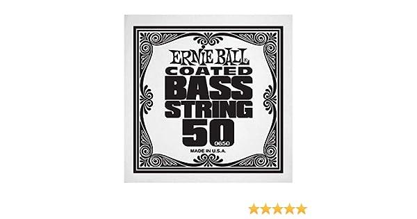 Ernie Ball 0650 Fil/é nickel 050 Corde basse au d/étail Slinky Coated
