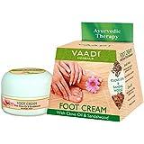 Vaadi Herbals Foot Cream, Clove and Sandal Oil, 30g
