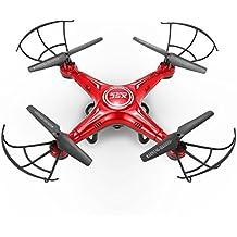 GoolRC X5C Drone con Cámara HD 2.4GHz 4 Canales 6 Ejes GyroRC Quadcopter con Funciones de Vuelta una-tecla Modo sin Cabeza 360 ° eversión