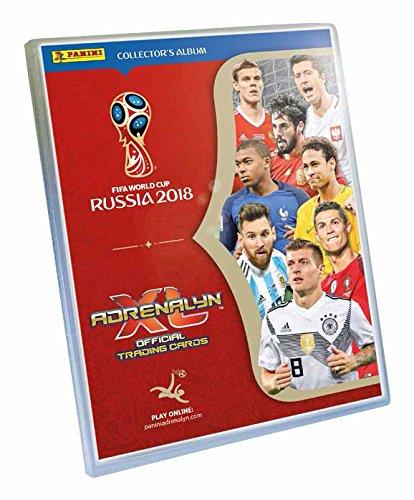 Panini 508956 FIFA World Cup Adrenalyn XL 2018 Starterset, Ordner, 4 Booster und 2 Sonderkarten (Fußball-karte Ordner)