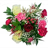 Fresh Flowers Clare Florist Oriental Charm Bouquet with FREE Chocolates and FREE NEXT DAY UK Delivery - Beautiful Flowers for Birthdays, Anniversaries and Special Occasions