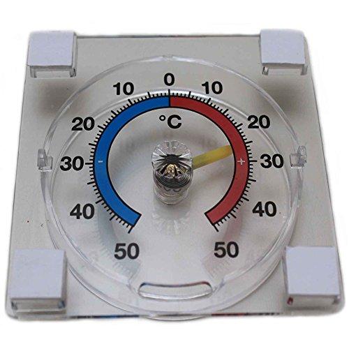 Fensterthermometer Fenster Thermometer Außenthermometer Fensterscheibe Temperaturanzeige