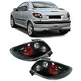 Carparts-Online 11995 Klarglas Rückleuchten schwarz