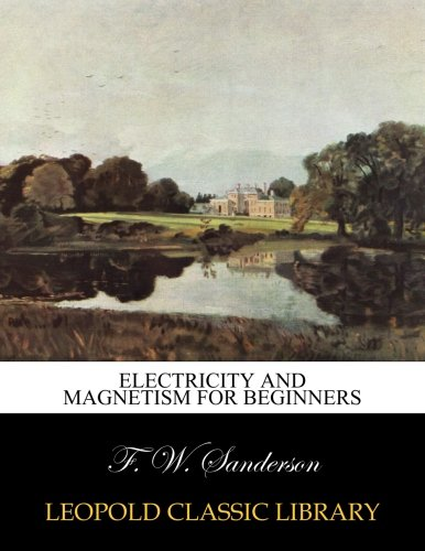 Electricity and magnetism for beginners Sanderson Quilt