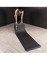Proworks Große Gepolsterte Yogamatte für Pilates Gymnastik Mit Trage Gurt