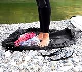 Frostfire Moonbag (Schwarz) - Schwerlast Wickelauflage und Beutel, ideal für Wassersport, Schwimmen...