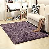 Bereich Teppich Verdickt Waschbar Fluff Rutschfeste Zimmer Teppich Kinderzimmer Teppich 120 * 160cm